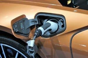Voiture, Bmw I8 Roadster, Chargement De La Batterie