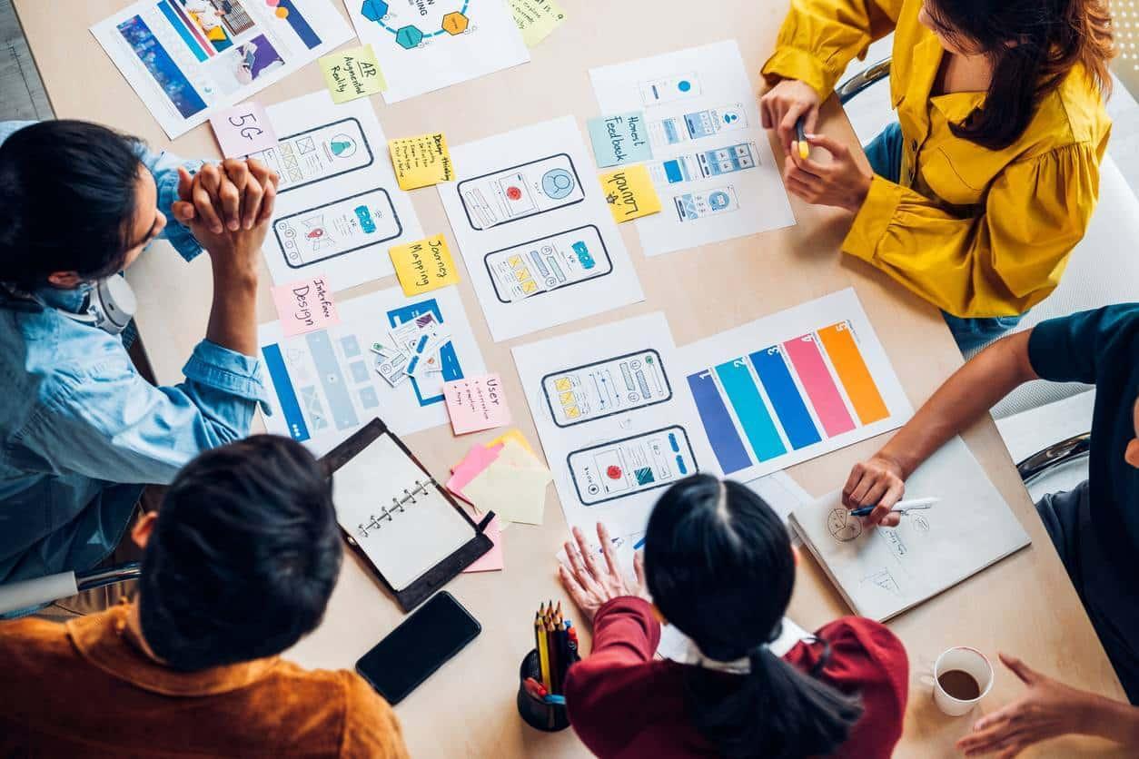 création site web charte graphique agence web