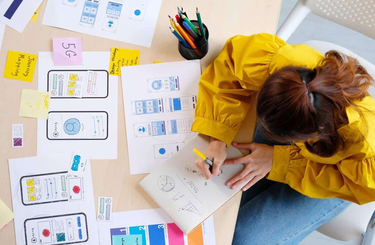 travailler le UI et le UX